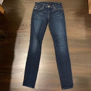7 For All Mankind Skinny Jean 25